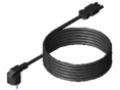 Przewód podłączeniowy do sieci, kolor czarny