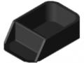 Pojemnik chwytakowy 160x80, kolor czarny