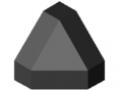 Zaślepka łącznika 6 30x30-45°, kolor czarny