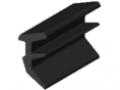 Profil uszczelkowy 8 2-4mm, kolor czarny