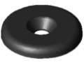 Zaślepka do uchwytu 5 D28, kolor czarny