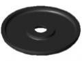 Zaślepka do uchwytu 6 D42, kolor czarny