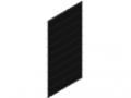 Krata prętowa 25x200, 1830x958, kolor czarny