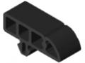 Profil ochronny 8 40x16 R16, kolor czarny