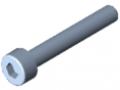 Śruba z łbem walcowym DIN 912 M3x20, ocynk.