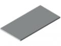Blat stołu 30-1200x600 ESD HPL, kolor szary zbliż. do RAL 7035