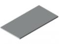 Blat stołu 30-1500x750 ESD HPL, kolor szary zbliż. do RAL 7035