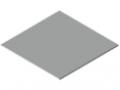 Materiał kompozytowy stal - 2 mm, kolor biały, zbliżony do RAL 9016
