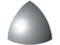 Zaślepka łącznika 5 R20-90°, kolor szary, zbliż. do RAL 7042