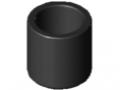 Pokrywa rury D30 ESD, kolor czarny