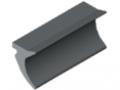 Profil uszczelniający 4-5mm - XMS, kolor szary