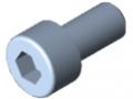 Śruba z łbem walcowym DIN 912 M5x10, ocynk.