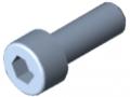 Śruba z łbem walcowym DIN 912 M5x14, ocynk.