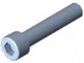 Śruba z łbem walcowym DIN 912 M10x50, ocynk.