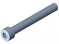 Śruba z łbem walcowym DIN 912 M10x80, ocynk.