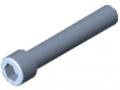 Śruba z łbem walcowym DIN 912 M12x70, ocynk.