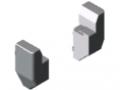 Profil ramowy-łącznik narożny, zestaw 8 60x40 180°
