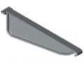 Profil uchwytowy 8 140x50 podziałka, kolor szary, zbliż. do RAL 7042