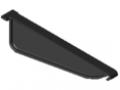 Profil uchwytowy 8 140x50 podziałka ESD, kolor czarny, zbliż. do RAL 9005