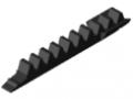 Listwa zębata 8, segment 80 K, kolor czarny