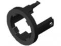 Tuleja łożyska ślizgowego D40/D30 ESD, z zabezpieczeniem przed przekręceniem, kolor czarny