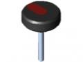 Śruba radełkowana Pi D44 M6x45 PA, kolor czarny