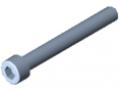 Śruba z łbem walcowym DIN 912 M6x50, ocynk.