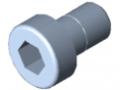 Śruba z łbem walcowym DIN 6912 M5x8, ocynk.
