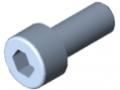 Śruba z łbem walcowym DIN 912 M5x12, ocynk.