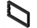 Profil obudowy elektronicznej 8 200x120, kolor czarny