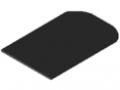 Pokrywa do pojemnika chwytakowego 120 antystatyczna, kolor czarny
