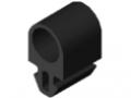 Profil amortyzujący 8 20x18, kolor czarny