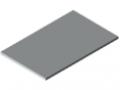 Blat stołu 30-1200x750 ESD HPL, kolor szary zbliż. do RAL 7035