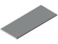 Blat stołu 30-1500x600 ESD HPL, kolor szary zbliż. do RAL 7035
