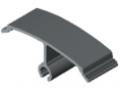 Klips profilu przegrody K56 K - XMS, kolor szary, zbliż. do RAL 7046