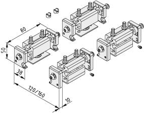 Zestaw wózka LRF 8 D10