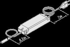 Transformator elektroniczny LED 75W 24V
