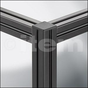 Profil 5 20x20, kolor czarny