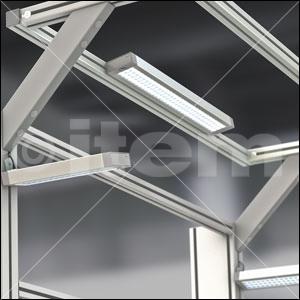 Lampa LED 15W 80x32x300