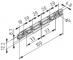 Szyna rolkowa 100 D4-20/33 ESD, kolor czarny, zbliż. do RAL 9005